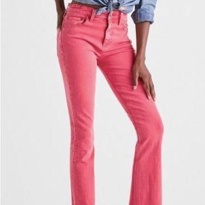 Lucky Brand Pink Mini Boot Cut Jean - NWT 14/32